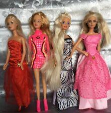 1966/1999 Lot of 4  Barbie Dolls Mattel  ...