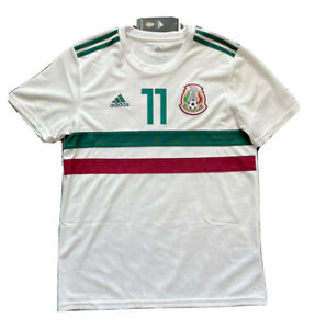 2018 Mexico Away Jersey #11 Carlos Vela Large World Cup Football Soccer NEW