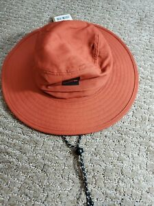 The North Face Homestead Brimmer Hat L/XL Picant Red New $35 Sun Visor