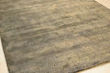 DOLCE 120x170cm viscosa lucentezza mano tufted Sottile Marrone Nero creste Rug