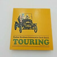 Vintage Parker Brothers Automobile Card Game - Touring