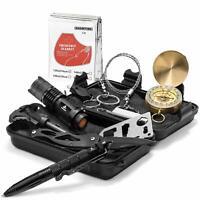 11 in 1 Überlebensset kit Camping Outdoor Survival kit Gear Tool mit