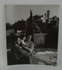 1955 Photo Peter Ustinov and Family Phillipe Halsman Large Signed