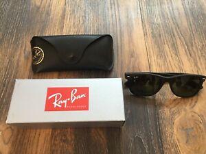 Ray Ban New Wayfarer Sonnenbrille für Herren - Schwarz