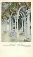 Postcard Library Of Congress, Washington, DC