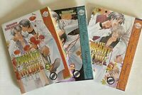 The Tyrant who Falls in Love Volumes 1 -3 - Yaoi Manga - BL - 3 Manga Lot