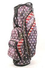Ogio Machu Stars & Strips Cart Bag 15-Way Top 8 Pockets Black Rain Hood Average