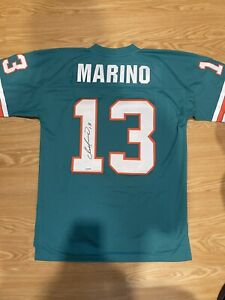 Autographed Dan Marino Miami Dolphins Signed Mitchell & Ness Jersey Fanatics COA