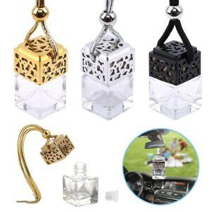 10x Hanging Empty Car Perfume Bottle Diffuser Air Freshner Gadget Mini Ornament