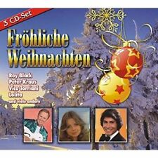 Fröhliche Weihnachten - Sampler - Roy Black, Lolita u.v.a. 3 CD Set Neu OVP
