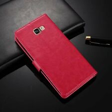 Retro Flip Wallet Leather Case Cover For Samsung Galaxy A3 A5 A7 2017 S8/S8 Plus