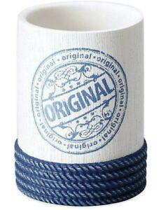 J.Queen New York Voyage Tumbler Bathroom cup Nautical