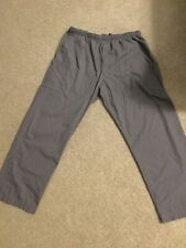 Gray Men Landau Scrub Pants 2XL Good Condition