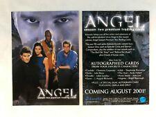 CHEAP PROMO CARD: Angel Season 2 Inkworks 2001 #A2-i ONE SHIP FEE PER ORDER