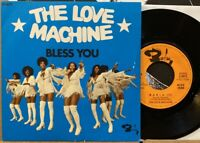 """rare french funk breaks groove 7"""" LOVE MACHINE Bless You ♫ Mp3 Barclay Disco"""