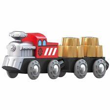 Hape E3751 roue dentée train chemin de fer magnétique carriages Inc 4pcs enfants...
