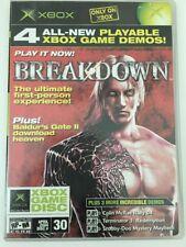 Official Xbox Magazine Demo Disc #30 2004 BREAKDOWN TERMINATOR 3 SCOOBY-DOO