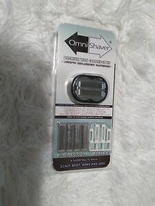 All New Premium Omnishaver & Cartridge Kit Omni Shaver Razor The Best Blades