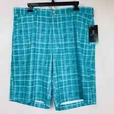 NWT Men's PGA Tour Harbor Blue Golf Shorts, Size 36 MSRP $55.00