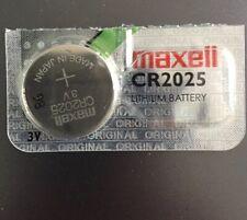 Maxell Watch Battery CR2025 Casio Fossil Michael Kors Armani Boss Smart Hybrid