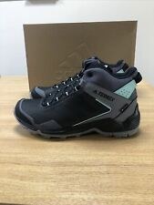 Womens Adidas Terrex Eastrail Mid GTX W Grey Four/Core Black/Clear Mint - UK 8