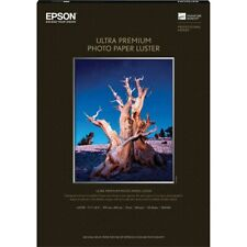 Epson Glossy A3 11.7x16.5 Ultra Premium Luster Photo Paper - 50 Sheets