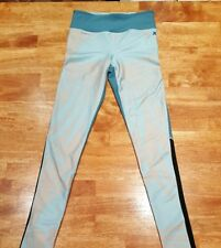 New! $65 Hurley Womens Palmer Leggings Pants Hybrid Compression Ocean Bliss, XS