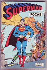 ! SUPERMAN POCHE N°27 en BON ETAT / TRES BON ETAT !