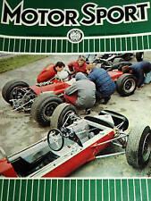 ALL AMERICAN RACERS DAN GUNEY EAGLE WESLAKE 2nd RACE OF CHAMPIONS 1967 F1