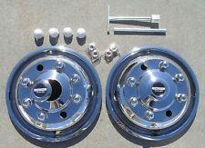 "19.5"" International 4700 Dually Wheel Simulators FRONTS OTL"