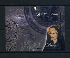 LIBERIA Wholesale Princess Diana Memoriam Min/Shts Veiled x 100 U/M CD 580