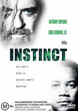 Instinct * NEW DVD * Anthony Hopkins Donald Sutherland Cuba Gooding Jr