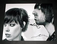"""Crystal Castles PP Signed 10x8"""" Photo Repro Alice Glass"""