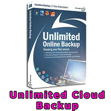 Livedrive Unlimited Online Cloud Backup Storage 1 Year Desktop PC Apple Mac OS X