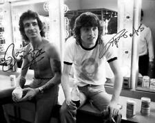 REPRINT - BON SCOTT AC/DC Singer Angus Young Signed 8 x 10 Photo Poster ACDC