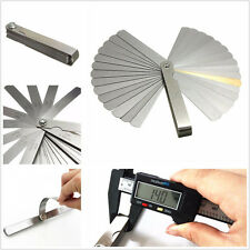 Car SUV Portable 32 Blade Feeler Gauge Dual Reading Metric Measurement Meter Kit