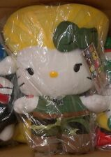 TOYNAMI SANRIO HELLO KITTY CAPCOM STREET FIGHTER LARGE GUILE PLUSH 10 11 SERIES2