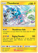 Thundurus 68/236 Unified Minds | Pokemon Card | Fast Shipping