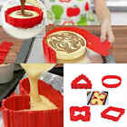 4x Cake Mold Magic Bake Snakes Create Chape Nonstick Tray Baking Mould Silicone