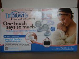 Dr Brown's Simplisse electric double breast pump accessories & bag