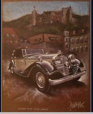 HORCH 670 1932 Cabriolet Kunstdruck Original Ferreyra-Basso