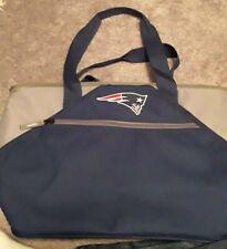 NFL New England Patriots Canvas Embriodered Logo Tote Shoulder Bag cooler