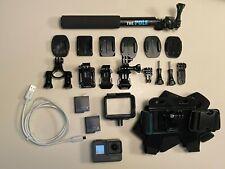 GoPro Hero6 action camera LOT chesty selfie stick Sandisk Extreme 32G microSD