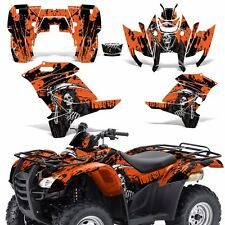 Graphic Kit Honda Rancher 420 ATV Quad Decals Sticker Wrap Parts 07-13 REAP ORNG
