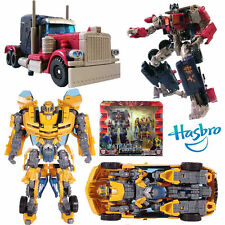 HASBRO TRANSFORMERS ROTF OPTIMUS PRIME + BUMBLEBEE AUTOBOT SET ACTION FIGURE TOY