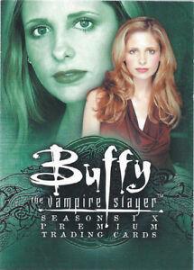 2002 Inkworks Buffy The Vampire Slayer: Season 6 You Pick Finish Your Set