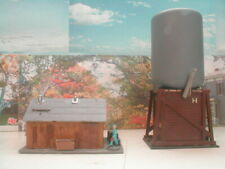 HO scale building  Engine water station weather/detail