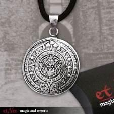 Anhänger Aztekenkalender 925 Silber Aztekenanhänger