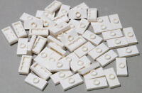 LEGO - 50 x Konverter - Platte 1x2 weiss / White Jumper / 15573 NEUWARE (L05)