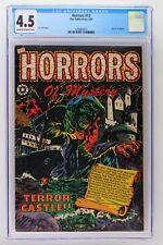 Horrors #13 - Star 1953 CGC 4.5 Horrors of Mystery.